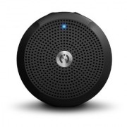 MuveAcoustics A-Star MA-2100SB Water-Resistant Portable Wireless Bluetooth Speaker (Steel Black)
