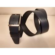 Piquadro Cintura - Nero E Blu - Cu3051n/blu