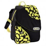"""Dětský batoh ve tvaru """"A"""", černá/žlutá"""