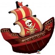 Pirate Ship Super Shape Foil Balloon