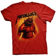 Tricou Copii Metallica: JITF Red