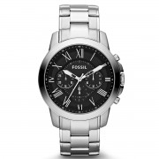 Часовник FOSSIL - Grant FS4736IE Silver/Steel