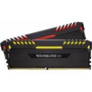Kit Memorie Corsair Vengeance 2x16GB DDR4 3200MHz CL16 Dual Channel RGB LED