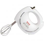 Mixer de mana Tefal EasyMax HT2501B1, 200 W, 5 viteze, Alb/Gri închis