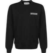 Calvin Klein Flyer Placement Crew Herren Sweater schwarz Gr. S