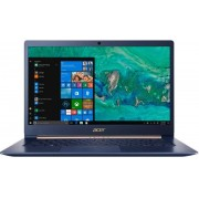 """Laptop Acer Swift SF514-52T-54KJ (Procesor Intel® Core™ i5-8250U (6M Cache, up to 3.40 GHz), Kaby Lake R, 14"""" FHD, Touch, 8GB, 256GB SSD, Intel® UHD Graphics 620, FPR, Win10 Home, Albastru)"""