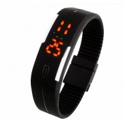 LED Watches Candy Color Silicone Rubber Digital Unisex Watches