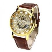 VILAM Transparent Analog Gold Dial Men's Watch - 103