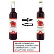 GranaProstan ferment 500 ml (dawniej GranaFerment) dla witalności, naczyń, serca, prostaty - Dr. Jacob's