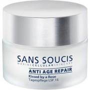 Sans Soucis Cura Anti-Age Trattamento giorno riparatore Kissed by a Rose LSF 15 50 ml