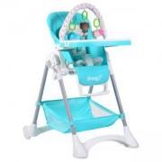 Детско столче за хранене Mango, Cangaroo, светло синьо, 356163