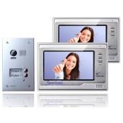 Anykam DT603D+ 2x DT692 Videosprechanlage Gegensprechanlage Tür Kamera 2-Familienhaus