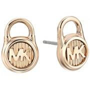 Marc Jacobs Logo Lock Stud Earrings Gold 2