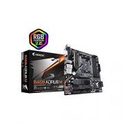 Gigabyte B450 AORUS M AM4/B450/DDR4/S-ATA 600/Micro ATX sokkel - zwart