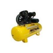 Compressor de ar de baixa pressão 20 pés 200 litros trifásico - CMV20PL/200 - Motomil