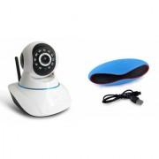 Zemini Wifi CCTV Camera and Rugby Bluetooth Speaker for LG OPTIMUS L3 II DUAL(Wifi CCTV Camera with night vision  Rugby Bluetooth Speaker)