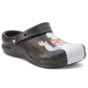 Чехли CROCS - Bistro Swedish Chef Clog 205169 Black/Light Blue