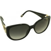 Chopard Over-sized Sunglasses(Black)