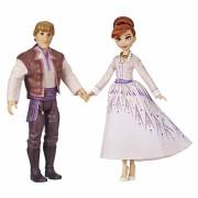 Set papusi pentru fetite Disney Frozen 2 - Anna si Kristoff