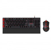 KBD, Redragon Yaksa & Nemeanlion Combo, Desktop, Gaming, USB (S102-BK)