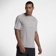 Haut de runningà manches courtes Nike Dri-FIT Medalist pour Homme - Gris