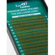 Eyelash extension 2D Premium Mink 18 STRISCE CC-curl