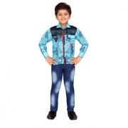 AJ Dezines Kids Party Wear Shirt and Jeans Set for Boys