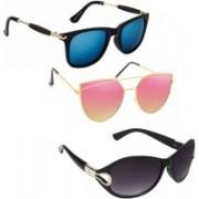 Vitoria Wayfarer, Cat-eye Sunglasses(Multicolor)