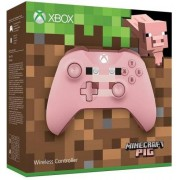 Microsoft Controller Wireless, Minecraft Pig, Microsoft - XBOne/PC