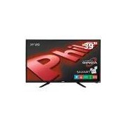 "Smart TV LED 39"" HD Philco PH39N91DSGW com Conversor Digital, Tecnologia Ginga, Wi-Fi, Entradas HDMI e Entrada USB"