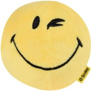Smiley World Wink Expression Soft Toy Ball 4 Inches Yellow by Ultra