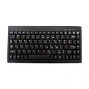Adesso ACK-595PB Mini Keyboard with Embeddedd Numberic Keypad PS/2 for Windows