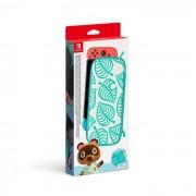 Funda de transporte Animal Crossing Edition: New Horizons y protector de pantalla Nintendo Switch