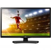 """Monitor LG 20MT48DF-PZ, 19.5"""", 5 ms, 200 cd/m2, Flicker free, telecomanda, negru"""
