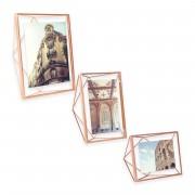Рамка за снимки UMBRA PRISMA - цвят мед - 10 х 10 см