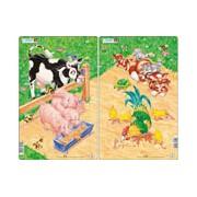 Larsen Midi Puzzle - Farm E1