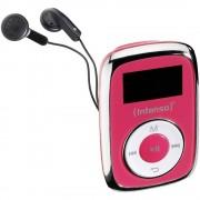 MP3 reproduktor Intenso Music Mover 8 GB, ružičaste boje, pričvrsna kopča
