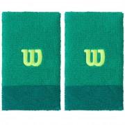 Set bandane incheietura, Wilson Extra Late, verde