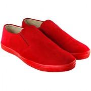 Blinder Men's Full Red Casual Mocassion Loafer Slip-on Shoes