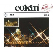 """Cokin P057 Filtro per Effetti Speciali Star 4 con Sistema Creativo a """"P"""", Trasparente"""