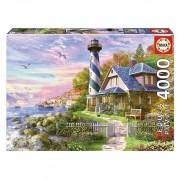 Puzzle 4000 Piezas El Faro De Rock Bay - Educa Borras