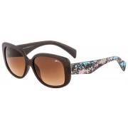 Soare ochelari RELAX de abanos maro R0313A