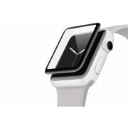 Zwarte Screenforce® Ultracurve Screenprotector voor de Apple Watch 42 mm - Series 2
