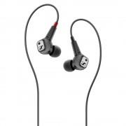 HEADPHONES, Sennheiser IE 80 S, Microphone, Black (507448)