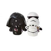 Star Wars Hallmark Itty Bitty Set of 2 Darth Vader and Storm Trooper Soft Toys 11Cm Tall