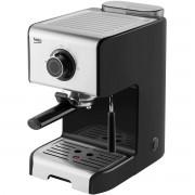 Espressor manual Beko CEP5152B, 15 bari, 1.2 L, 1200 W, 2 cesti, Dispozitiv de spumare a laptelui, Inox