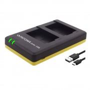 Patona Incarcator Rapid Dual USB pentru Nikon EN-EL15 cu Cablu Micro-USB