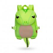 Детский водонепроницаемый рюкзак NOHOO дракончик зеленый