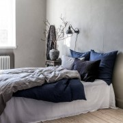 Tell Me More Washed Linen Duvet Cover