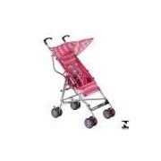 Carrinho De Passeio Para Bebê Umbrella Slim Rosa Voyage